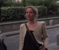Obsessed with this jacket Julie Delpy wears in Before Sunset Julie Delpy and Ethan Hawke in Before Sunset Sunrise Midnight Celine and Jesse http://www.ebay.com/itm/151034108744