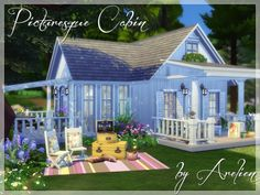 Picuresque Cabin by Arelien at TSR image 2150 Sims 4 Updates