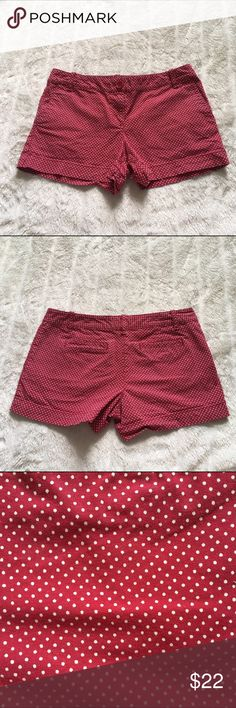 LOFT Polka Dot Shorts Worn a few times, excellent condition  Waist- 15 1/2 inches Inseam-3 inches   🎀Reasonable offers considered🎀 LOFT Shorts