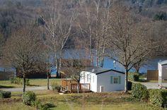Mobil-home du camping L'Ecrin Nature. www.randonnee-limousin.fr © Bureau des Accompagnateurs de la Montagne Limousine