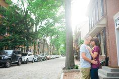 Old City Philadelphia Engagement Session // alison dunn photography