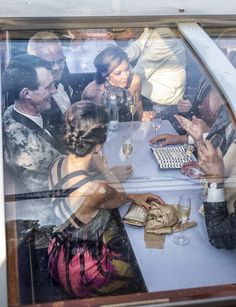 On board the boat Prince Joachim and Princess Marie had a great time with Countess Alexandra.