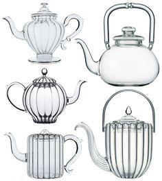 Gladd teapots
