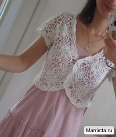 Crochet white top ♥️LCT-MRS♥️ with diagram.