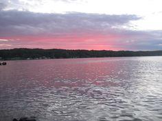 Torch Lake, Michigan.  Beautiful inland water