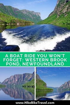 The boat ride on Western Brook Pond in Gros Morne National Park, Newfoundland is one you won't forget. You'll see waterfalls & cliffs over 700 m high. Ottawa, Newfoundland Canada, Newfoundland And Labrador, Newfoundland Tourism, Alberta Canada, Quebec, Ontario, Vancouver, East Coast Canada