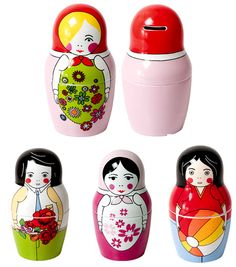 Russian dolls by the style files, via Flickr