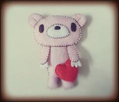 Gloomy bear's Heart by CarmenPay_Craft (Click for tutorials)