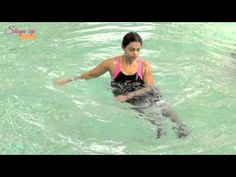 Fitness, stamina, weight loss : Aqua aerobics exercises that challenge and change you for better. - YouTube