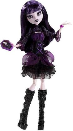 Monster High Frights Camera Action Doll [ Hauntlywood ~ Elissabat ]