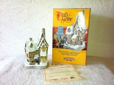 David Winters Cottages  FRED'S HOME  A Christmas by AntiqueCarla, $45.00