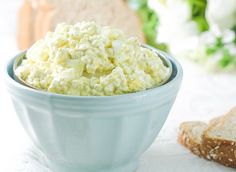 You won't miss the mayo in this protein packed Cottage Cheese Egg Salad recipe.