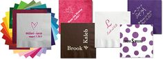 Personalized Napkins for all occasions