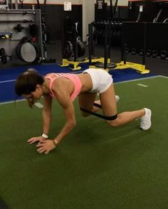 """2,839 Likes, 45 Comments - Alexia Clark (@alexia_clark) on Instagram: """"Mini Band Circuit 40seconds on 20seconds rest 3-4 rounds Everything will be on fire …"""""""