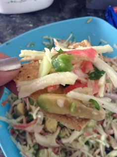 How to Cook a Healthy Mexican Crab Salad.