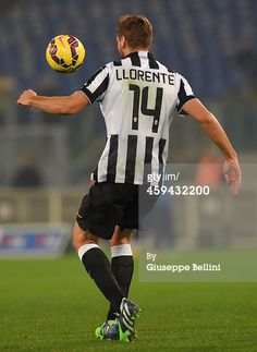 Fernando Llorente of Juventus FC in action during...