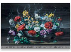 Glenn Brown Poster, $20 @ Gagosian SHOP