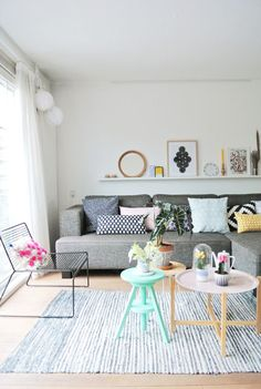 The lovely home of a Dutch designer