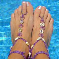 Easy Barefoot Sandals - How to make barefoot sandals