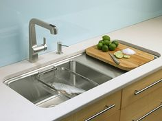 Kohler Wet Surface Kitchen Sink - I like the idea, but I would like a 2nd compartment to actual sink.