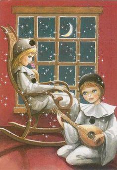 Belles images de Pierrot et Colombine - BONHEUR DE LIRE