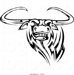 Image from http://logos.co/1024/royalty-free-clip-art-vector-logo-of-a-black-and-white-tribal-texas-longhorn-steer-bull-by-seamartini-graphics-7478.jpg.