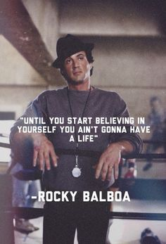 Rocky Balboa Quotes, The Return of Legendary - moments Rocky Quotes, Rocky Balboa Quotes, Wisdom Quotes, Quotes To Live By, Life Quotes, Sylvester Stallone Quotes, Positive Quotes, Motivational Quotes, John Rambo