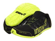 Inov-8 Bare XF 210 Black / Lime - Designed for every element of fitness. Incorporates zero differential and zero midsole as well as a sticky rubber sole to provide a strong base for lifting weights. The one piece TPU lacing support provides durability on the shoe when climbing ropes.