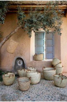 Moroccan market basket