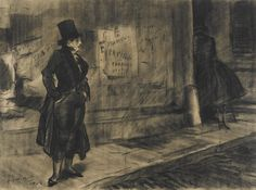 Ashcan School (II) Everett Shinn Shinn f. Ashcan School, Robert Henri, Frederique, Gramercy Park, Most Famous Artists, Art For Art Sake, Drawing Sketches, Drawings, Crayon
