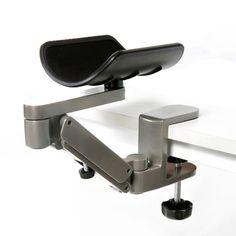 Ergonomic Arm Rest for Computer Table Arm Support Aluminum Alloy Mouse Pad Arm Wrist Rest Hand Shoulder Protect Mousepad