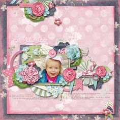 Sweet & Chic by Vero - the french touch #thestudio #digitalscrapbooking