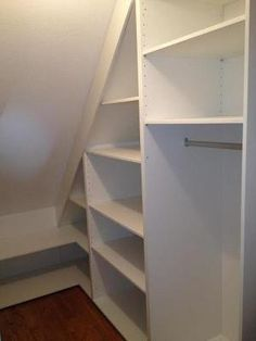 38 Organizing and Storage Items that will Make Your Life Easier - The Trending House Under Stairs Pantry, Shelves Under Stairs, Closet Under Stairs, Stair Shelves, Staircase Storage, Stair Storage, Basement Stairs, Cupboard Storage, Pantry Closet