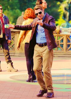 Chris Evans, don't throw off his groove