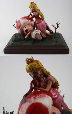 Zombie Princess Peach #Nintendo