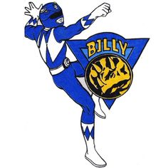 Billy - Blue Ranger (Power Rangers)