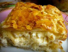 Greek Sweets, Greek Recipes, Apple Pie, Lasagna, Tart, Deserts, Cooking Recipes, Cheese, Breakfast