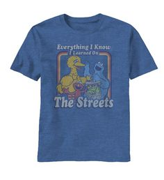 Sesame Street T-Shirt features the saying