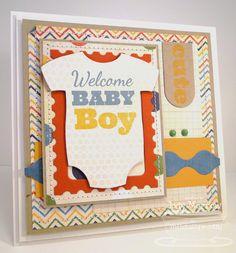 Baby Onesie Die-namics and Stamp Set - Jody Morrow