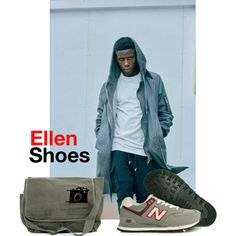 Ellen Shoes #19 by albinnaflower on Polyvore featuring moda, New Balance, shoes, shopping and ellenshoes