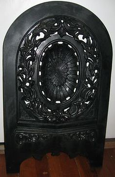 Iron and Cast iron fireplace