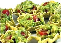 Skinny Guacamole! A wonderful appetizer or snack instead of reaching for a sugary empty calorie one. I keep it skinny by adding things like chopped onions, tomatoes, salsa and fill into Baked Tostitos Scoops. Each serving, calories, 8.6 grams of fat and 3 Weight Watchers POINTS PLUS.   http://www.skinnykitchen.com/recipes/skinny-guacamole/