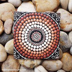 Authentic Aboriginal Dot Art Acrylic paint on by RaechelSaunders