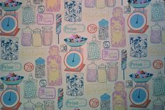 candy shop wallpaper