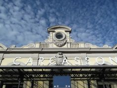 Carcassonne train station