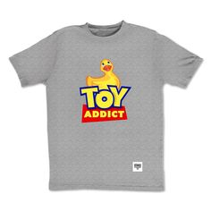 Tee-shirt Toy Addict  by Otaku Gamewear  #ToyAddict #OtakuAddict