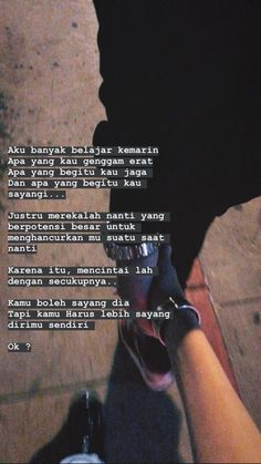 Quotes Rindu, Quotes Lucu, Cinta Quotes, Quotes Galau, Story Quotes, Tumblr Quotes, Text Quotes, People Quotes, Mood Quotes