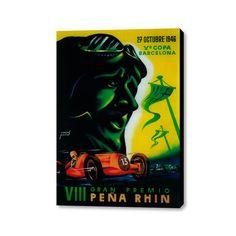 """VIII Gran Premio Peña Rhin (20"""" x 16"""")"""