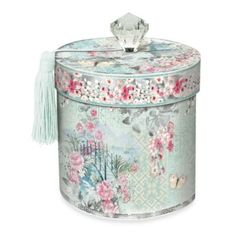 Take a look at this Haiku Blossom Toilet Tissue Holder by Punch Studio on today! Paper Napkins For Decoupage, Decoupage Box, Fabric Covered Boxes, Makeup Supplies, Sewing Studio, Christmas Centerpieces, Bath Accessories, Wedding Gift Registry, Tissue Holders