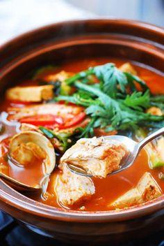 Fish Recipes, Seafood Recipes, Indian Food Recipes, Asian Recipes, Soup Recipes, Cooking Recipes, Healthy Recipes, Japanese Recipes, Chinese Recipes